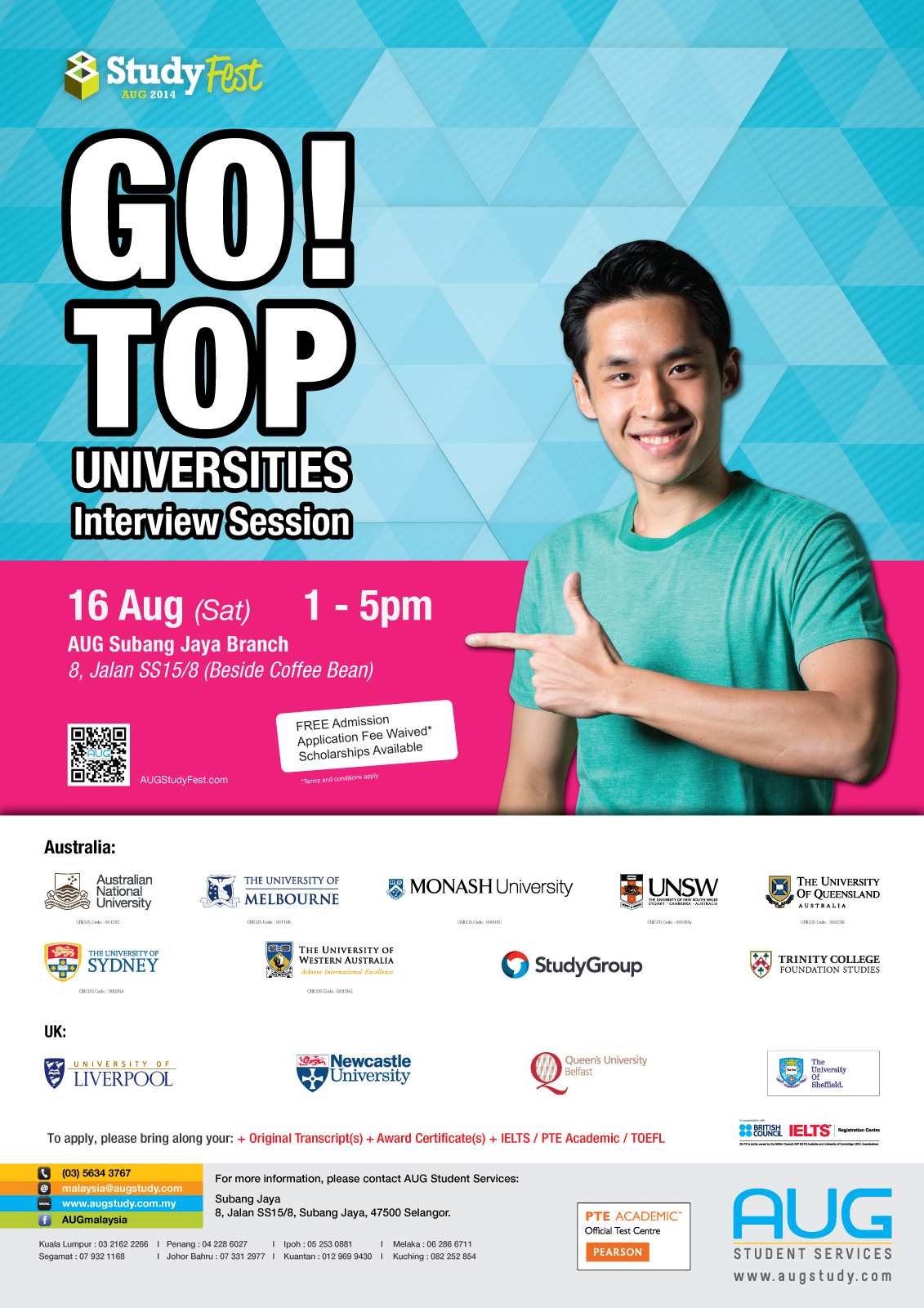 StudyFest 2014 Poster